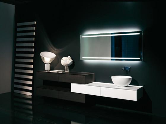 Освещение в ванной комнате благодаря светодиодной ленте