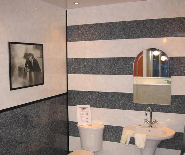 Отделка ванной комнаты панелями