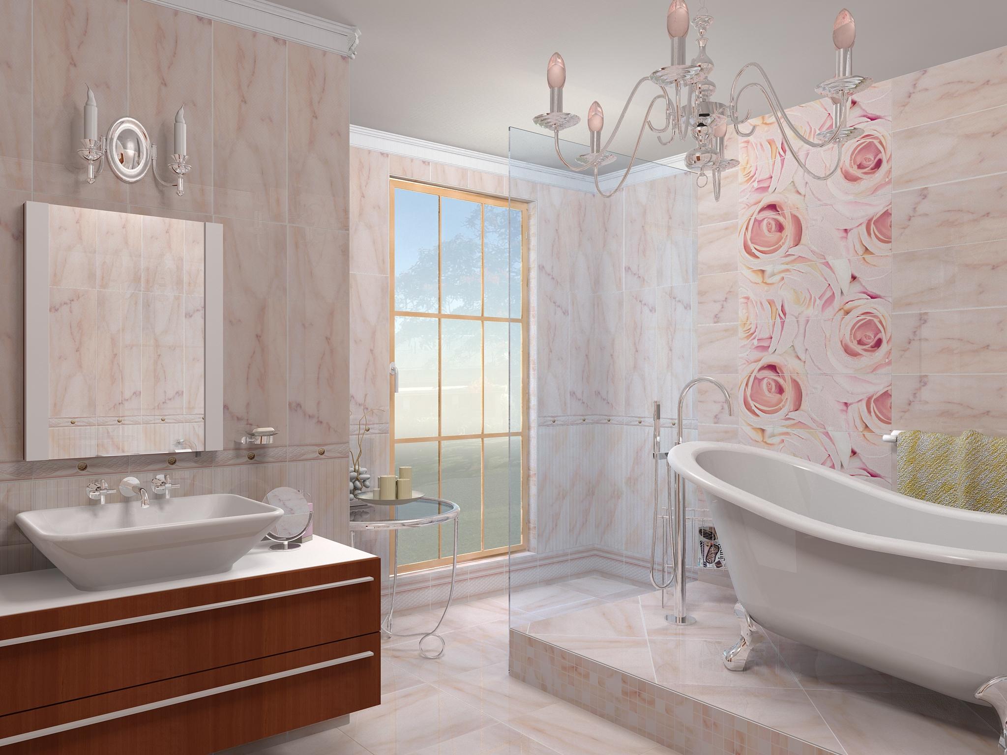ПВХ панели в ванной – это красиво и стильно