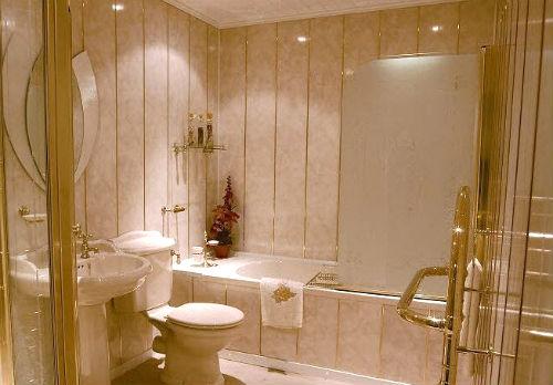 Панели ПВХ для ванной - особенности