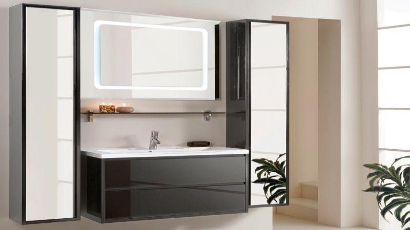 Зеркальный шкаф в ванную комнату купить смеситель для кухни бланко в екатеринбурге