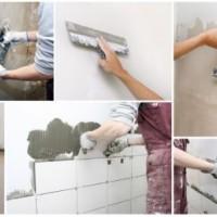 Как подготовить стену под плитку в ванной