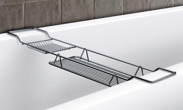 Полка на ванну из металла