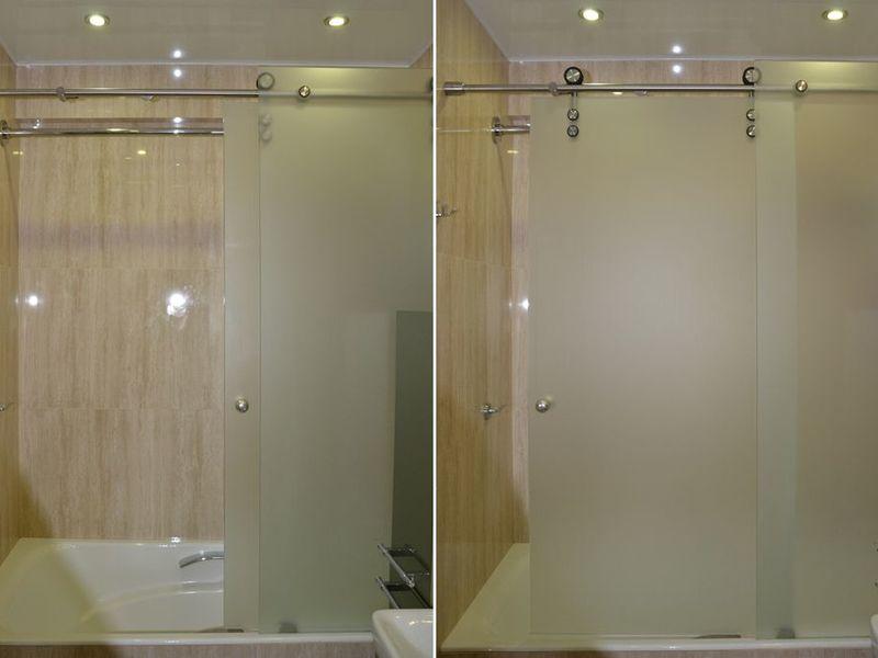 Раздвижные стеклянные панели