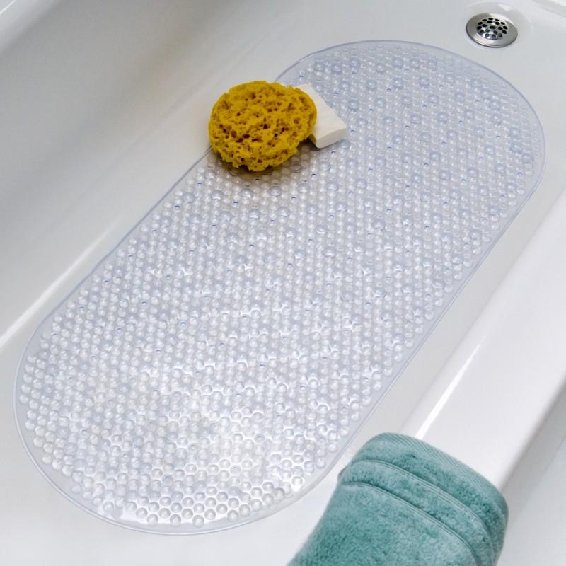 Силиконовый коврик в ванную