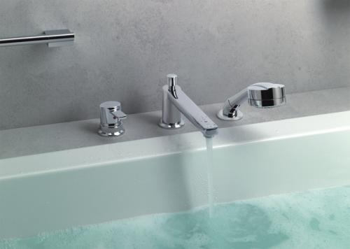 Смеситель на борт ванны - новые тенденции