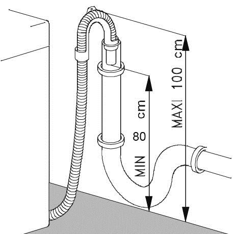 Правильное подключение стиральной машины к сифону