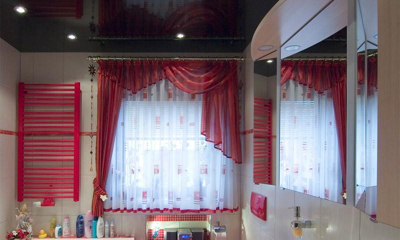 Темные покрытия отделки комнаты