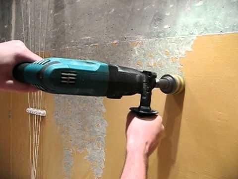 Удаление краски путем шлифования
