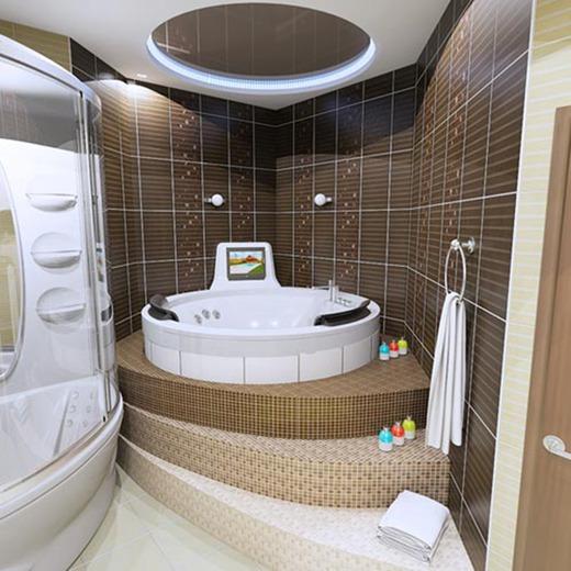 Устанавливаем джакузи в ванной на подстаменте