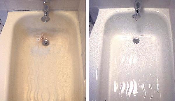 Ванна до и после стакрила