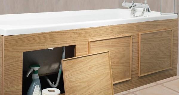 Важной декоративной и функциональной деталью ванной комнаты является экран