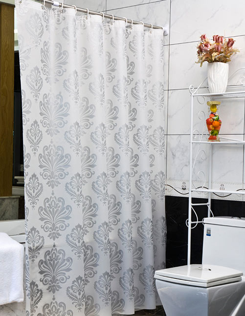 Виниловые шторки для ванной