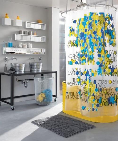 Виниловые шторки для ванны