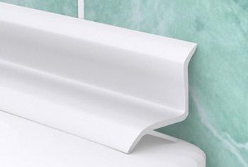 Внутренний пластиковый бордюр для ванны