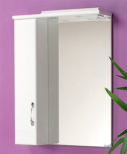 Зеркало для ванной комнаты белый