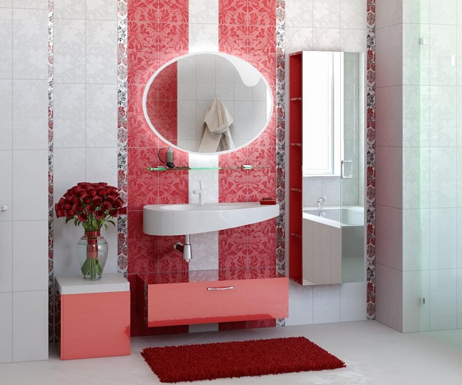 Зеркало в пенале для ванной комнаты – утилитарность и декоративность в одном предмете