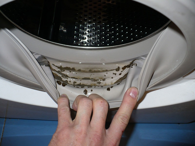 Загрязнения в стиральной машине
