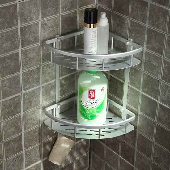 Полки для ванной комнаты из нержавеющей стали