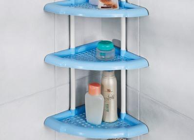 полки угловые для ванной из пластика