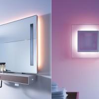 Зеркало для ванной комнаты с подсветкой, виды и правила выбора