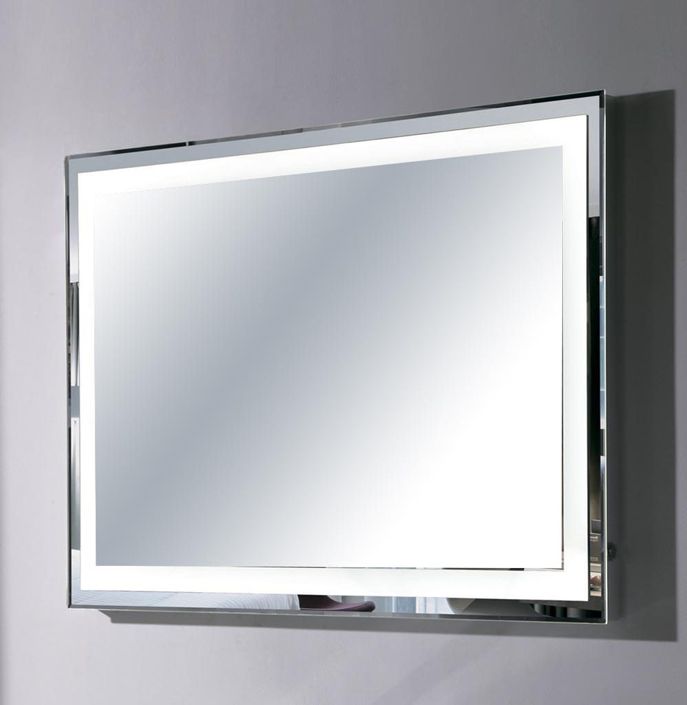Зеркало оборудованное подогревом и подсветкой