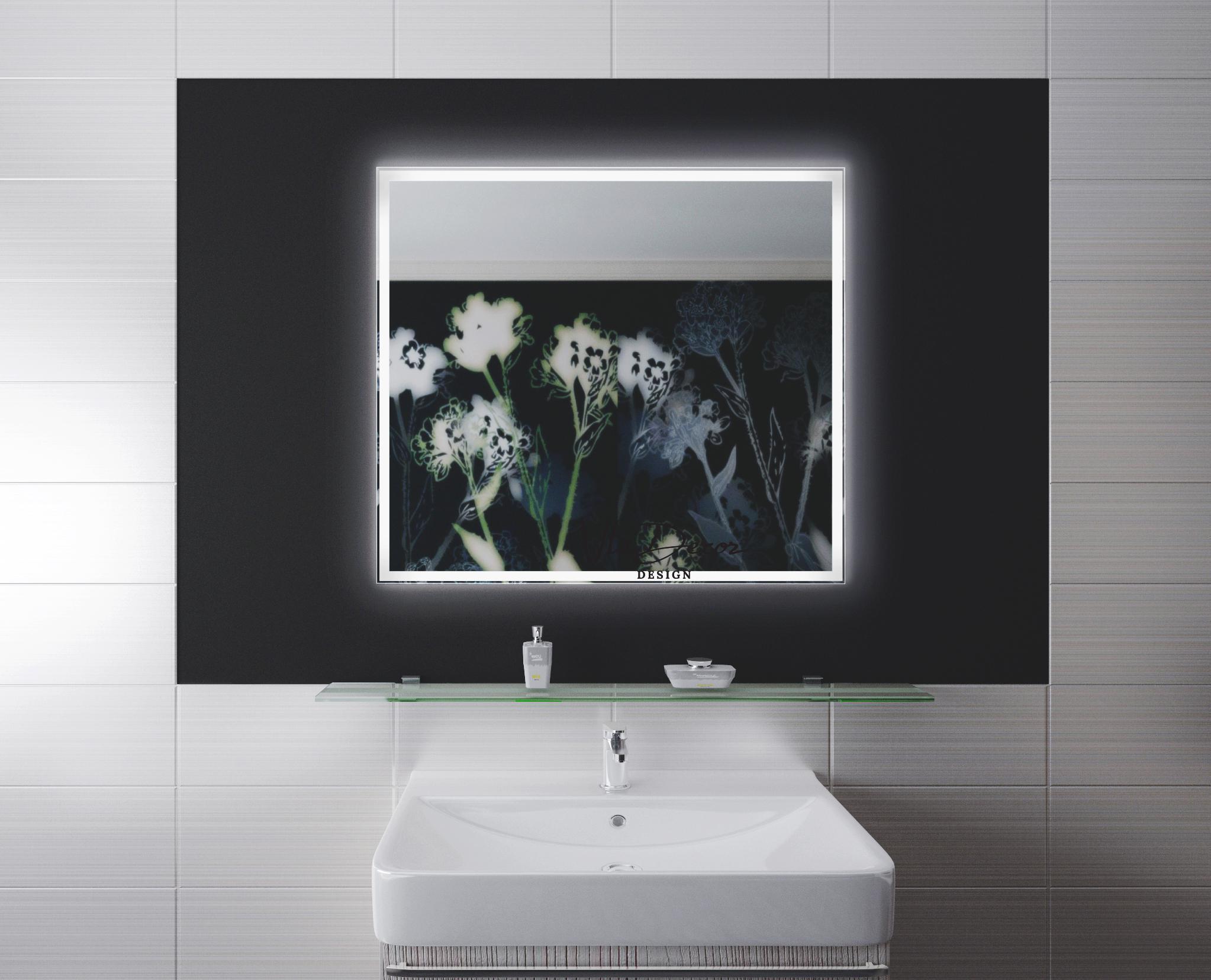 Зеркало со светодиодной подсветкой