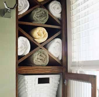 Домик для полотенца