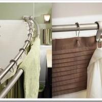 Штанга для шторы в ванне, советы по подбору