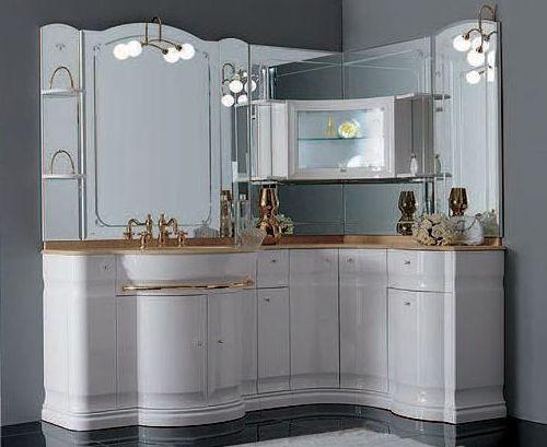 Мебель для ванной угловая