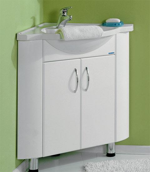 Мебель для ванной угловой вариант