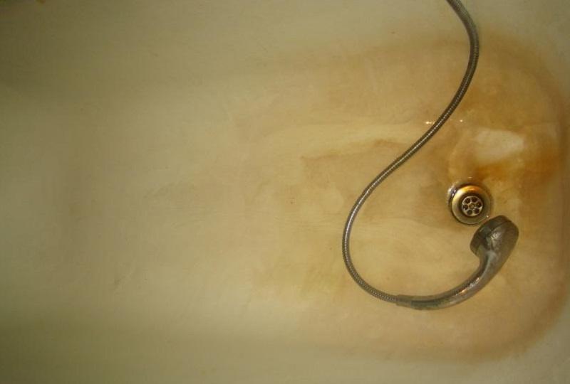 Налет в ванной комнате