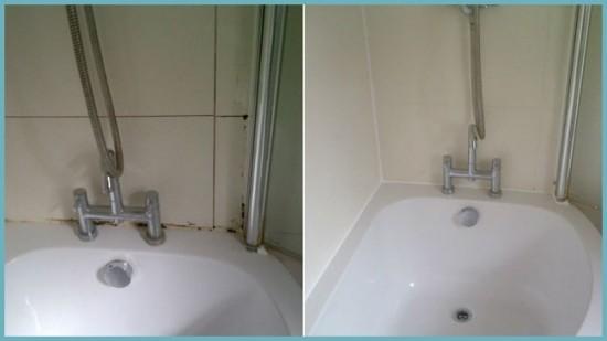 до и после очистки швов
