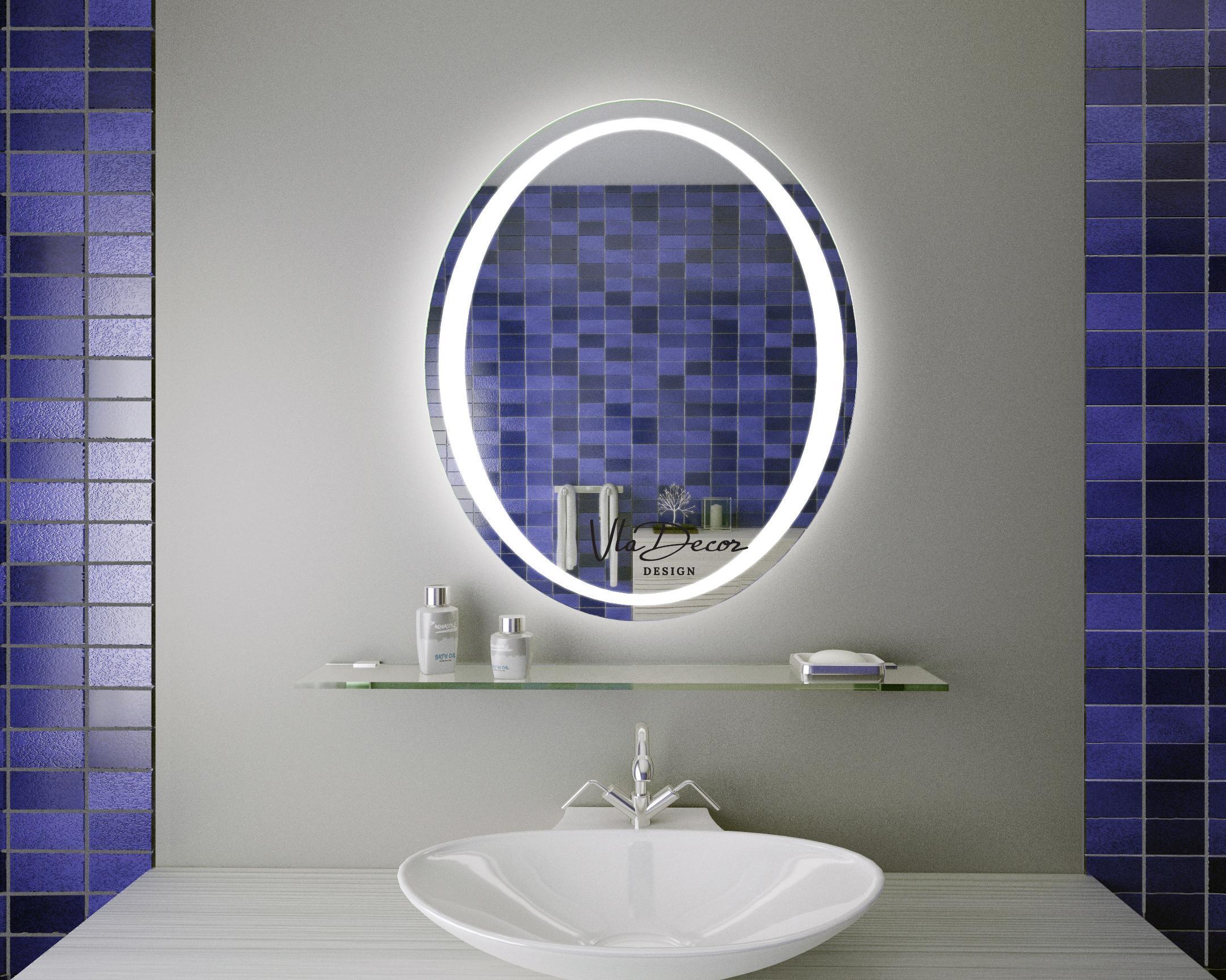 Зеркало в ванную с полками своими руками фото 671