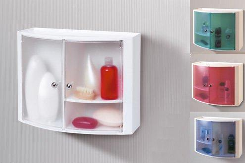Пластиковые шкафчики для ванной