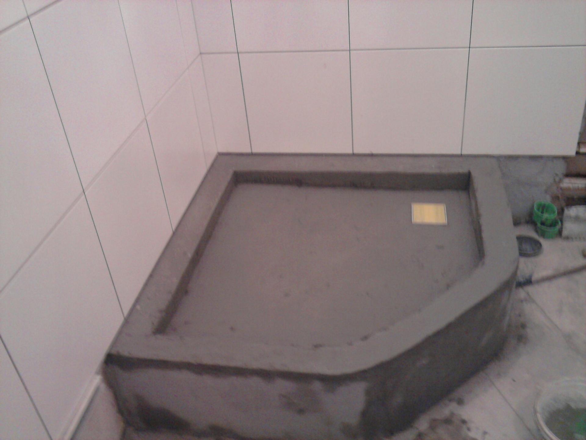 Заливка бортиков бетоном