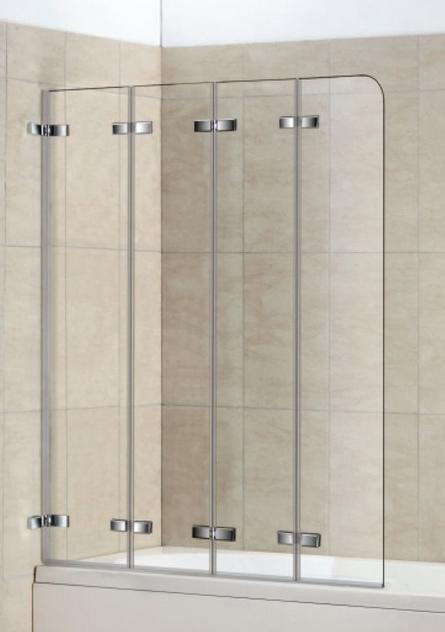 Прозрачная шторка для ванной