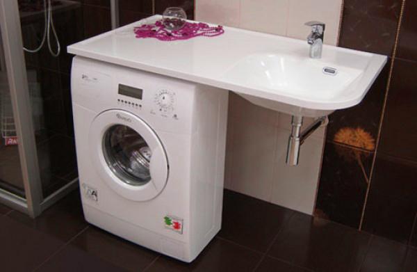 Раковина над стиральной машиной, выбор