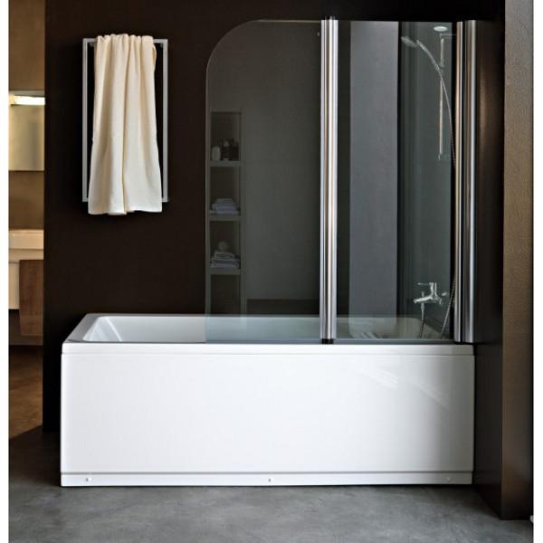 Штора из стекла в ванную
