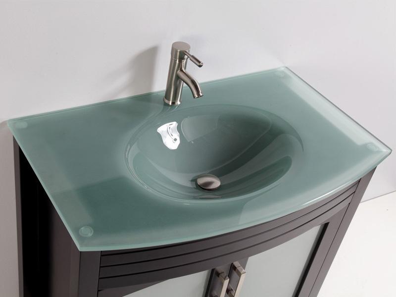 Стеклянные раковины в ванную комнату