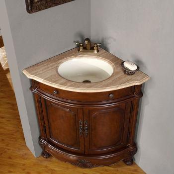Угловые раковины для ванной с тумбой - преимущества установки