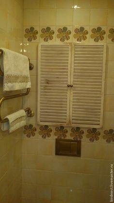 Встроенный шкаф для ванной