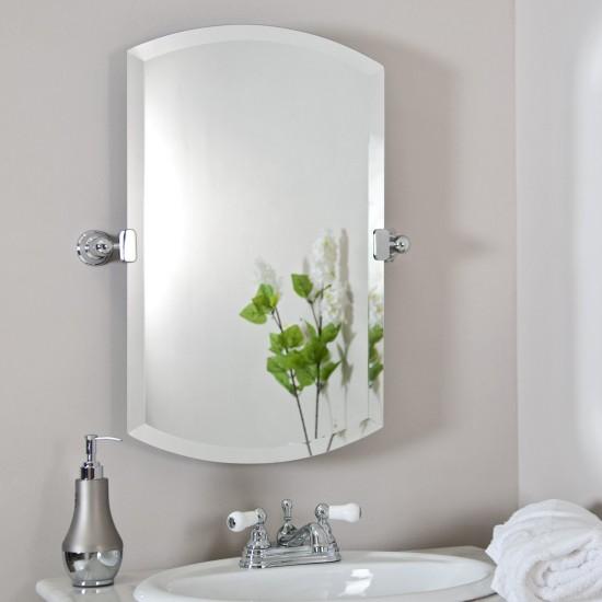 Зеркало, как и любой другой элемент ванной комнаты, должно иметь свое место