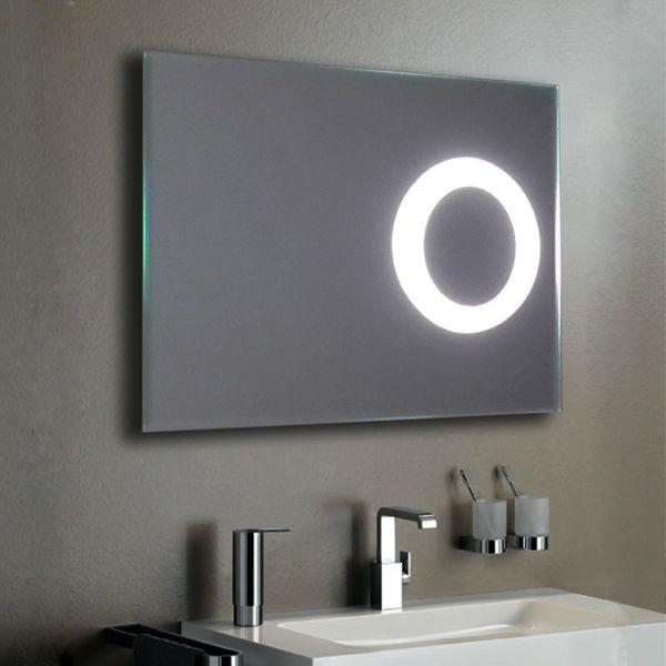 Зеркало со встроенным увеличением