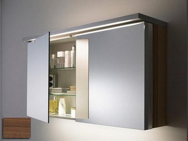 как выбрать и установить зеркальный шкаф для ванной