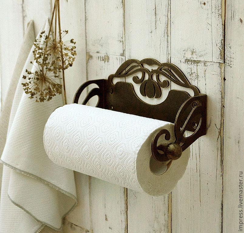 Красивый держатель бумажных полотенец