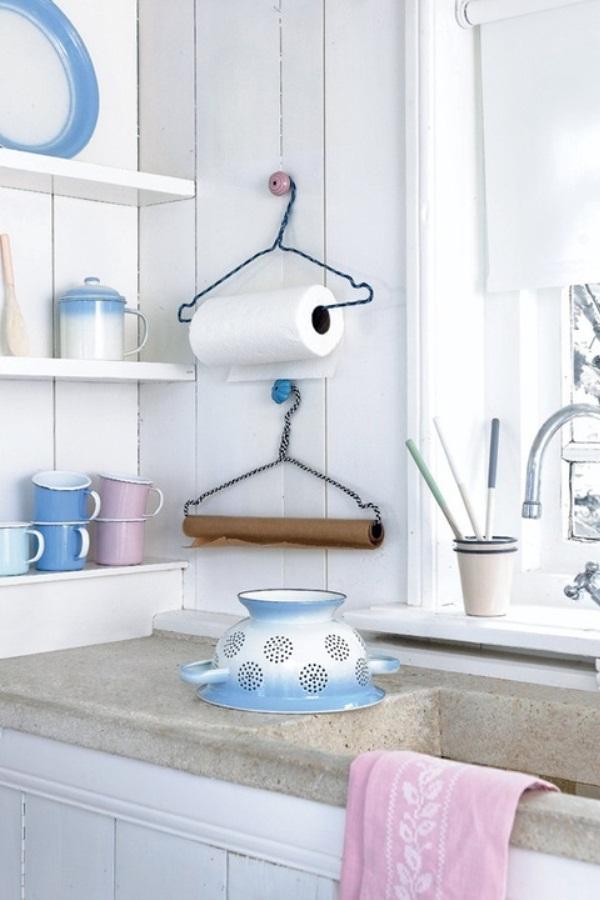 Полотенцедержатель для кухни как сделать