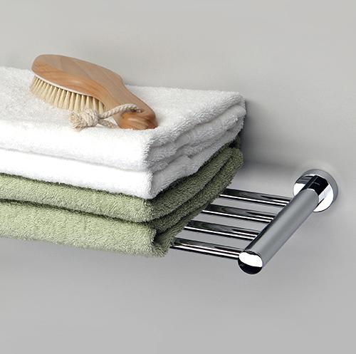Удобная полка для полотенец