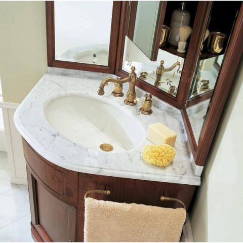 Угловая мебель для ванной тумбочка