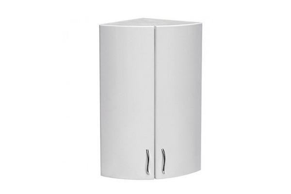 угловой навесной шкаф в ванную фото